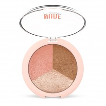 Nude Look Baked Trio Face Пудра